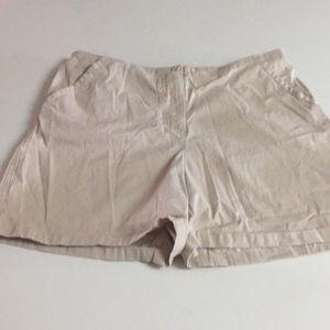 Boston proper high waist shorts size 10 khaki
